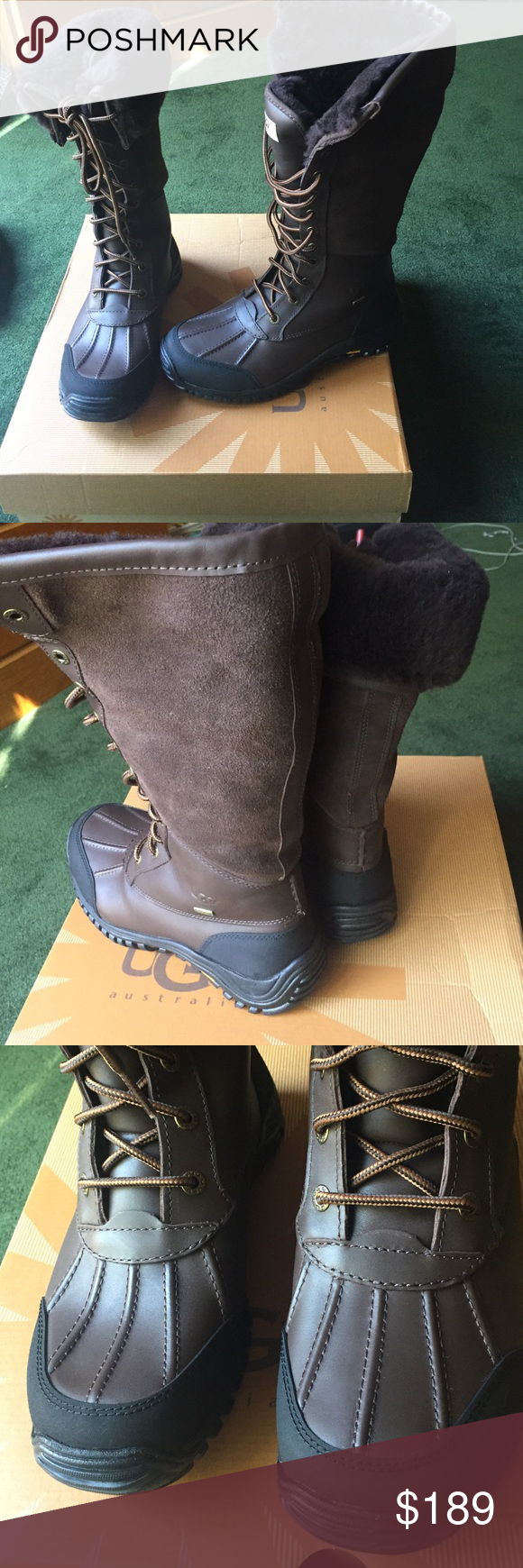 Never used authentic UGG Adirondack size 7.5 Comes with