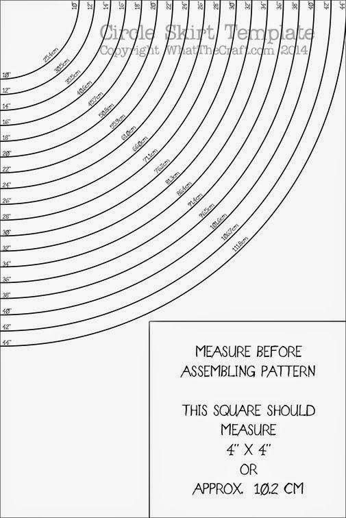 Patrón para hacer un volante circular sin cálculos