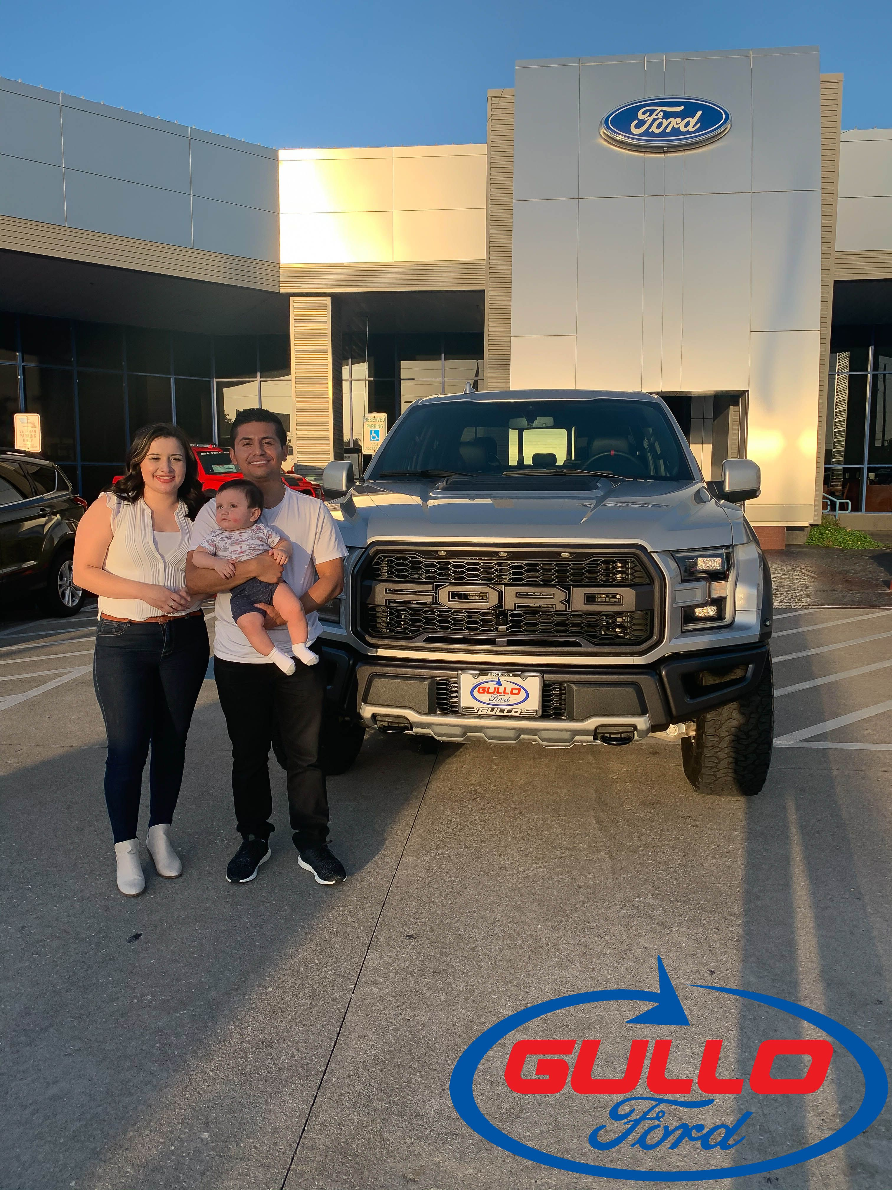 Thank you Carlos for purchasing your 2019 Ford Raptor with