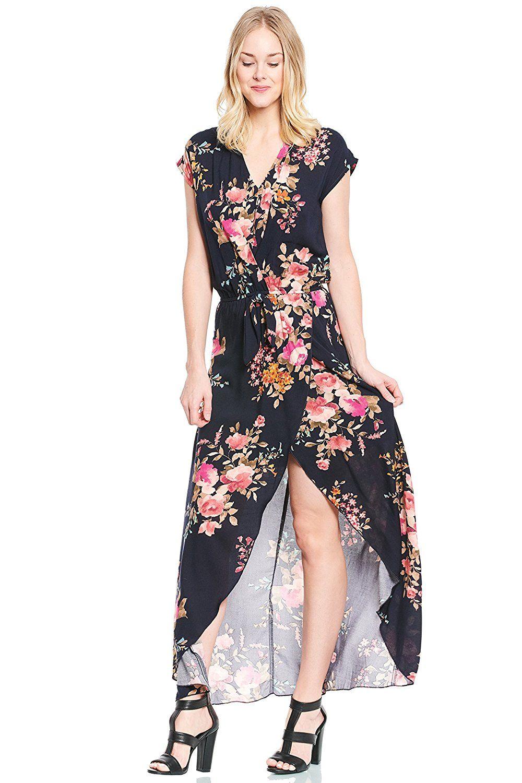 f069f55c1af Floral Wrap Maxi Dress Amazon - Data Dynamic AG