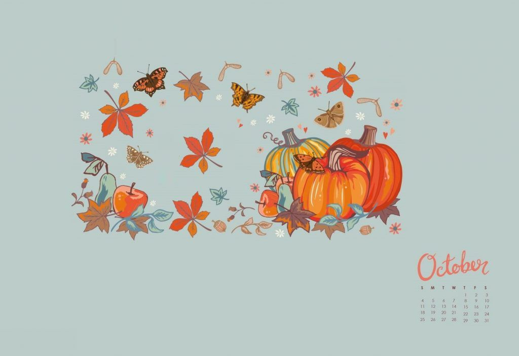 October 2020 Desktop Wallpaper Calendar Wallpaper Wallpaper Desktop Wallpaper