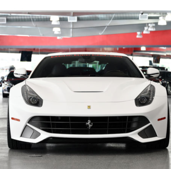 Gorgeous Matte White Wred Ferrari F12 Very Rare Your Dream Car Hit The Image To Find Out More Spon