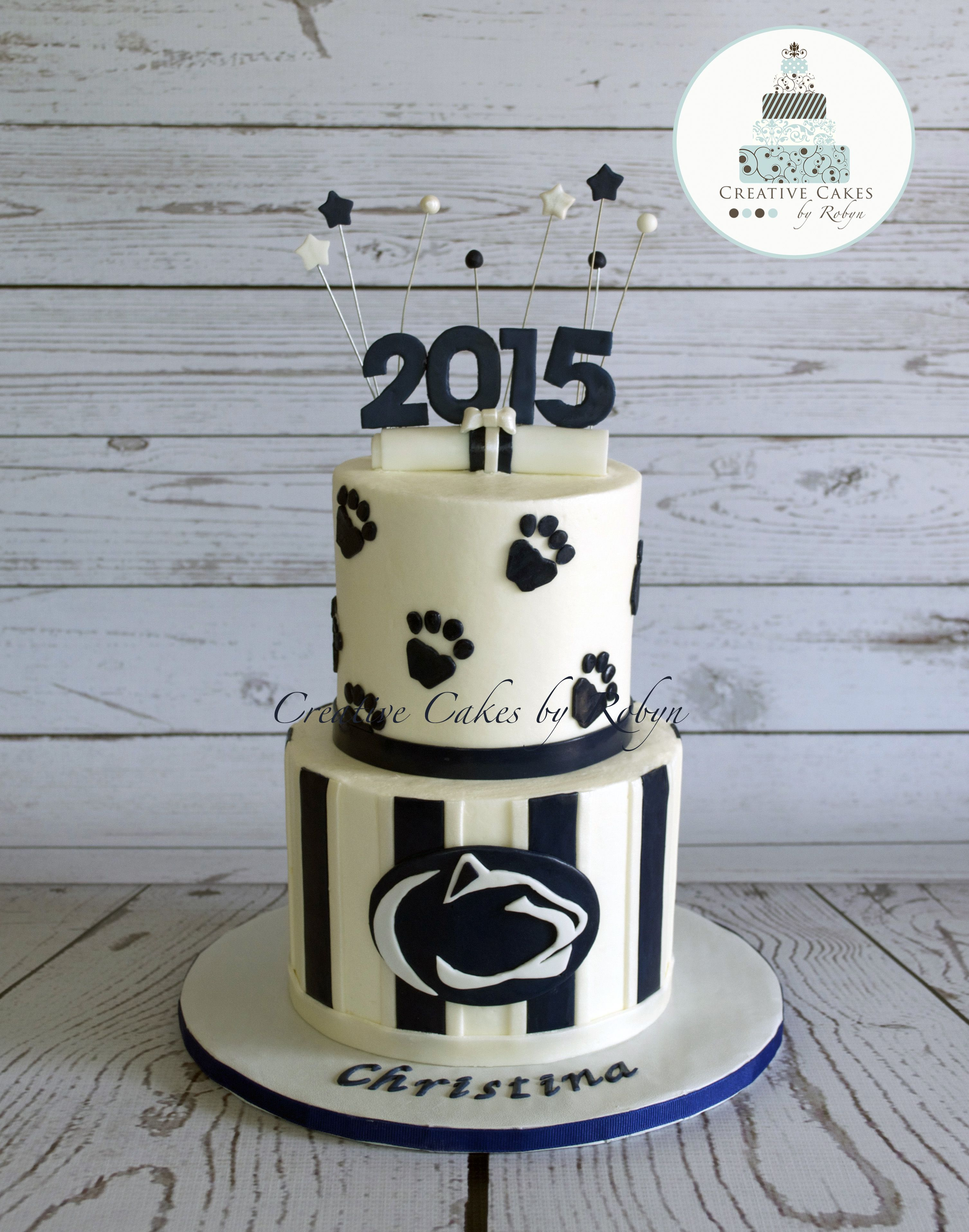off to penn state graduation cake my cakes the o penn state graduation cake