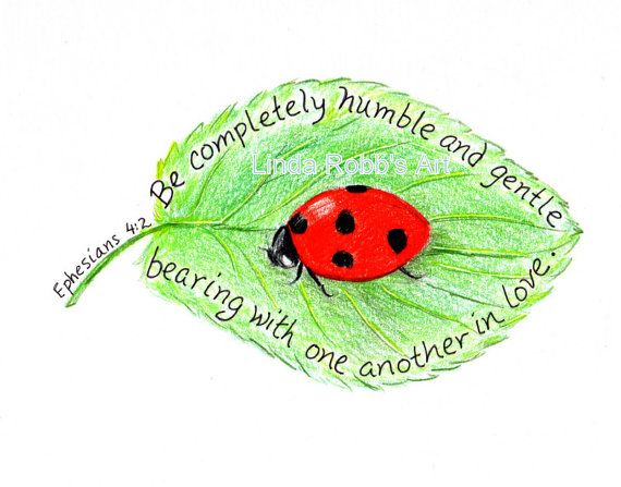 Scripture+Art+Ladybug+Inspirational+Bible+Verse+by+LindaRobbsArt