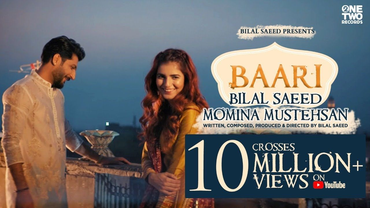 Baari By Bilal Saeed And Momina Mustehsan Official Music Video Lates Music Videos Pk Songs Wynk Music