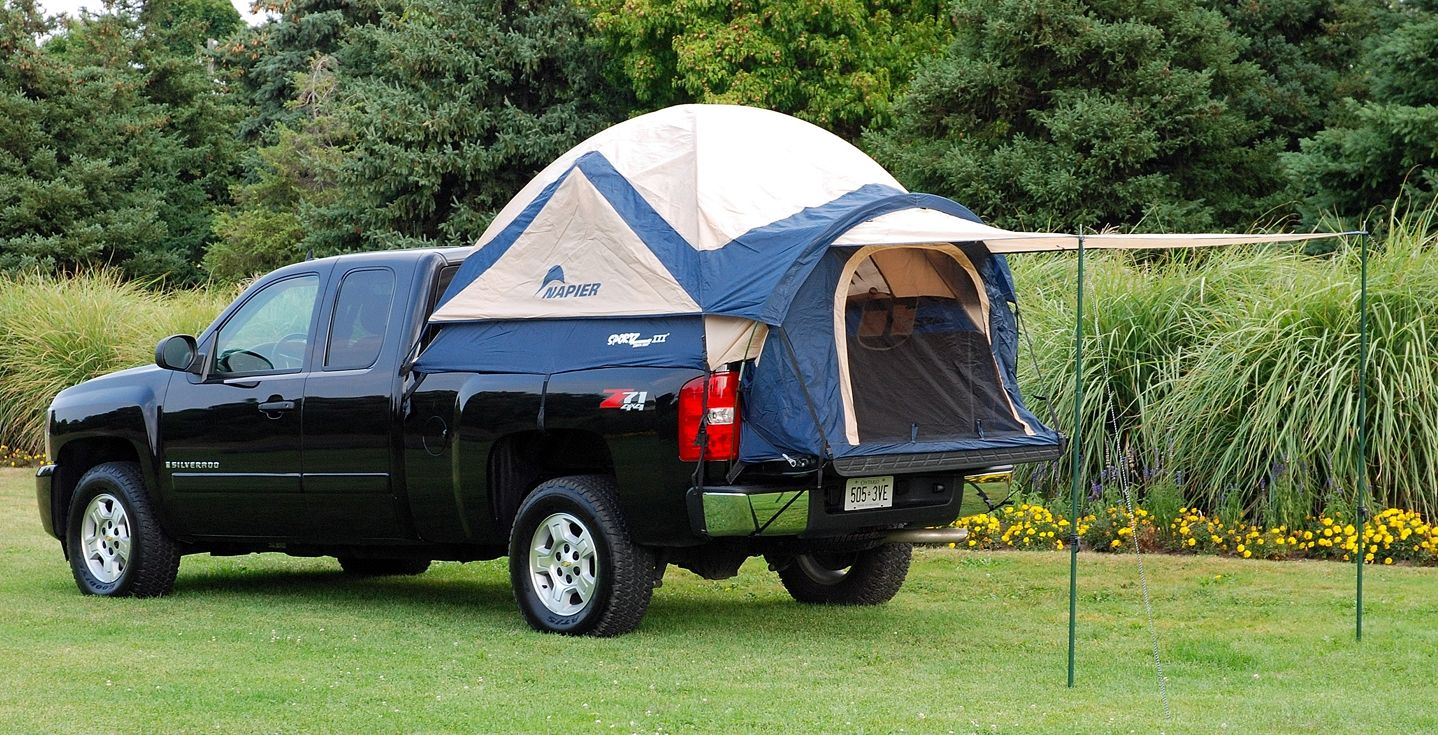 Napier Sportz Truck Tent lll- Full Size Long Bed This is awesome! Canu0027t wait to see if I can find this for Jarrod this summer ) : tacoma short bed tent - memphite.com