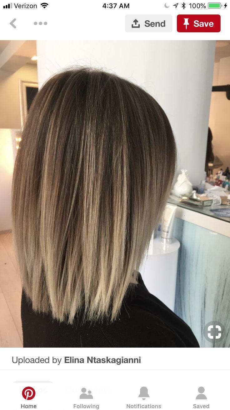 Color But More Caramel Honey For Lighter Tone Balayage Caramelhoney Color Lighter Tone Hair Styles Medium Bob Hairstyles Brunette Balayage Hair