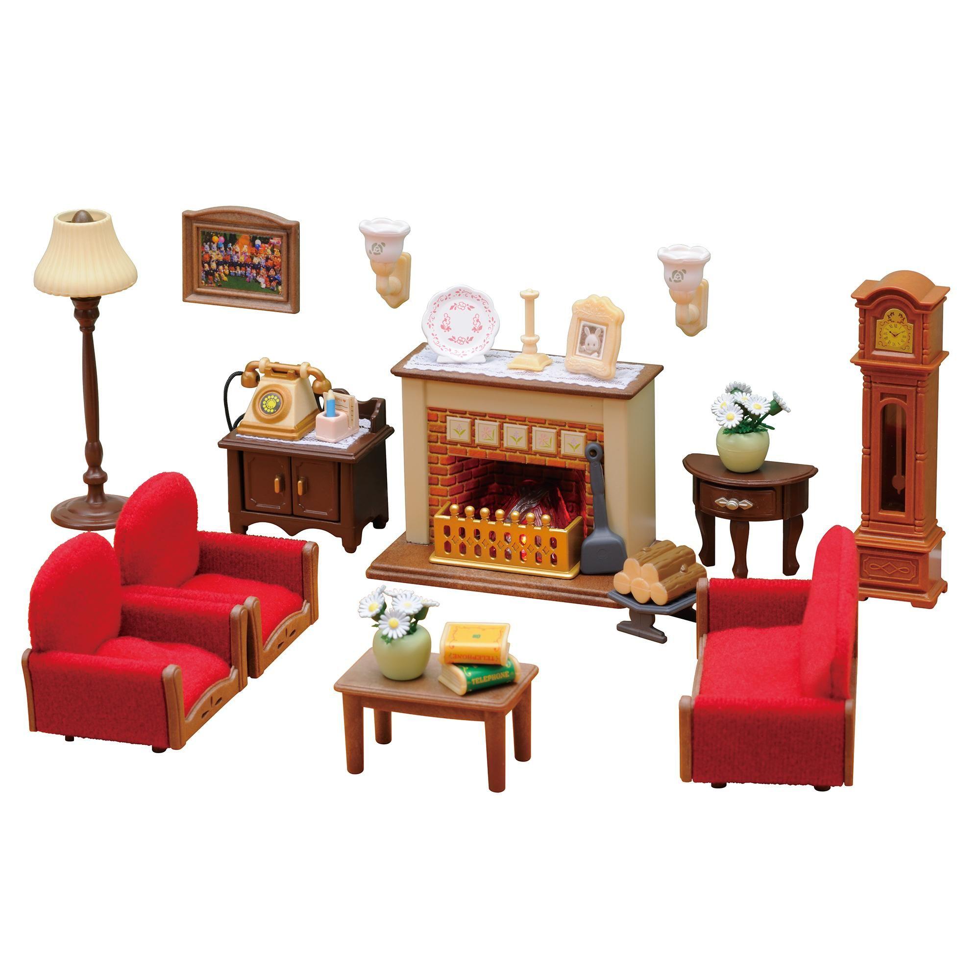 Sylvanian Families Luxury Living Room, Luxury Living Room Set Sylvanian Families