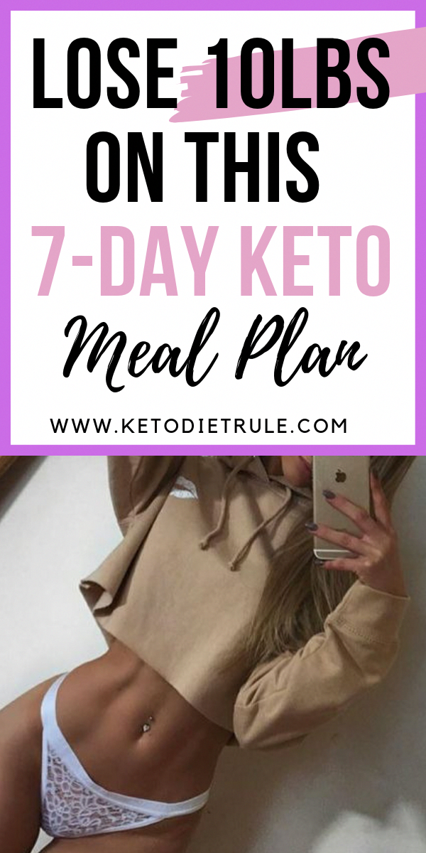 Lose 10 lbs on this 7-day keto meal plan. Ketogenic diet is an effective…
