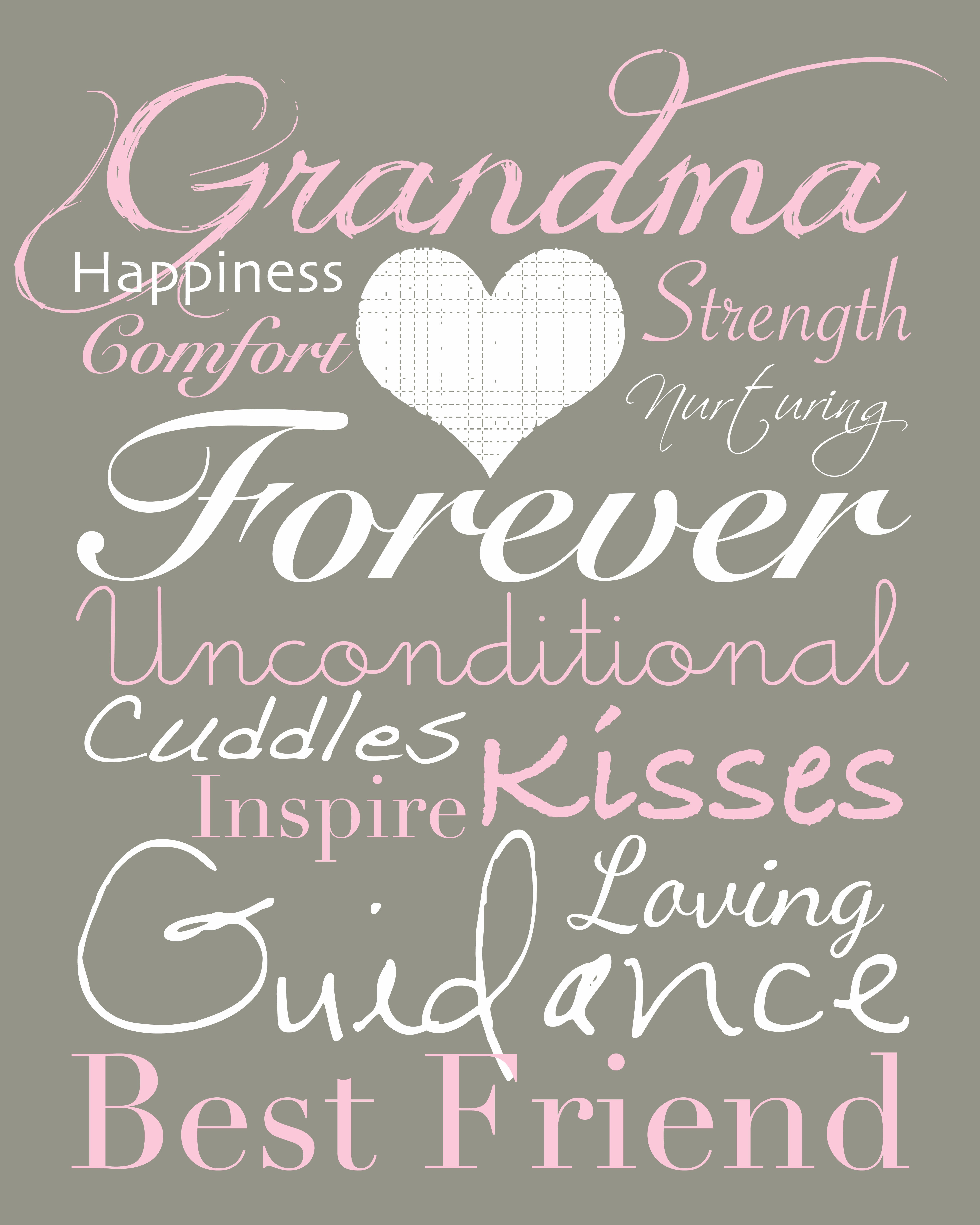 My Grandma Was My Momparent And Is Always My Best Friend Love My