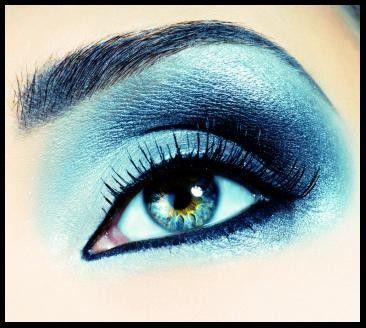 Makeup Tips for Blue Eyes   eyes make up for blue eyes