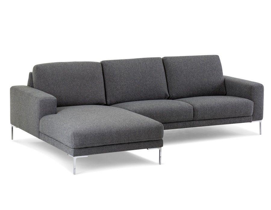 Grey Sectional Sofa Left Structube Seville New