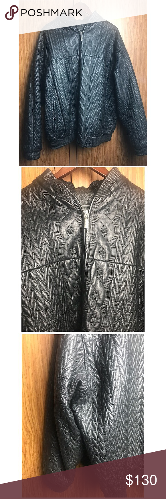 Men S Vilanto Genuine Leather Jacket Size 2x Item Is In Good Used Condition Shows Signs Of Light Wear T Genuine Leather Jackets Genuine Leather Clothes Design [ 1740 x 580 Pixel ]