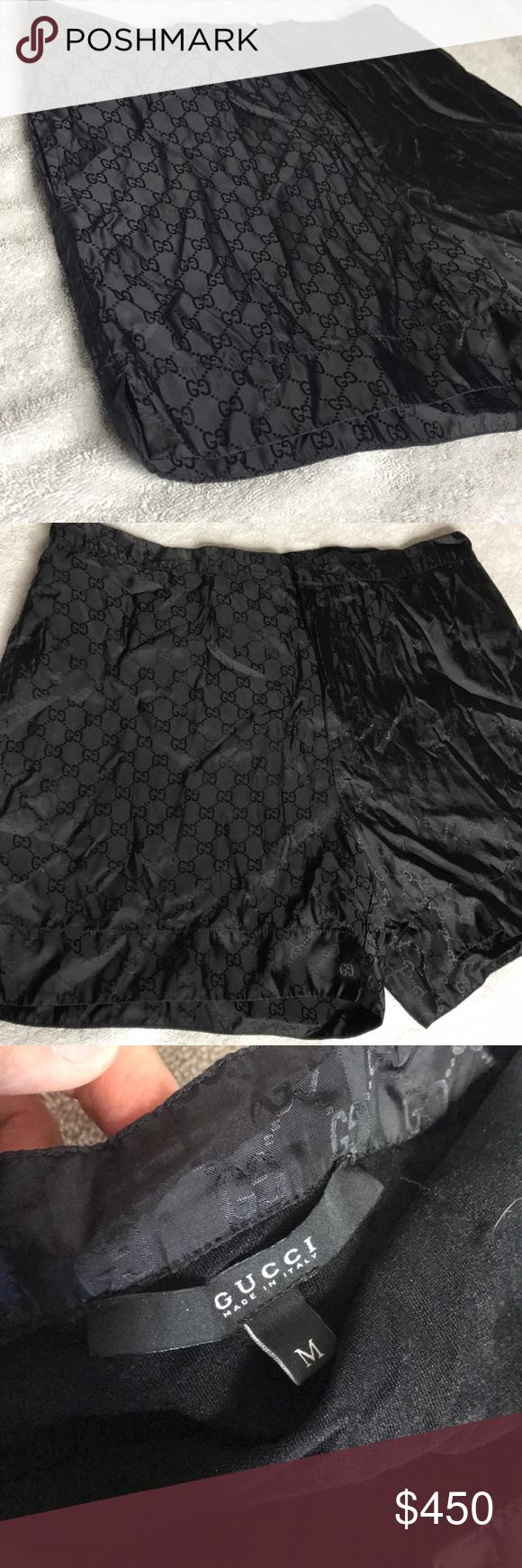 ac79e70194 Gucci Swim trunks Size: medium. Color black very well taken care of great  condition Gucci Swim Swim Trunks