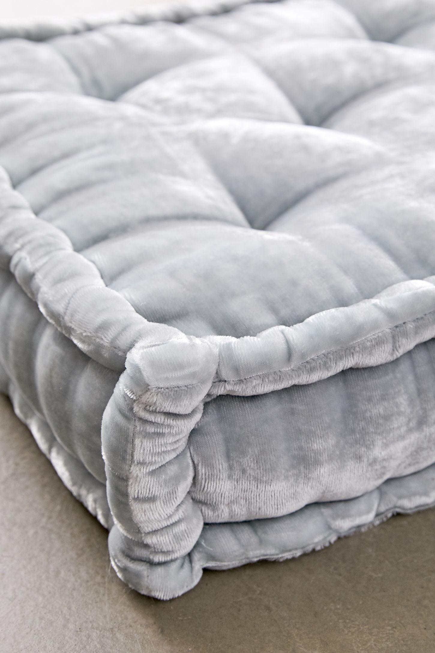 Ruthie Velvet Floor Pillow in 2020 Floor pillows, Urban