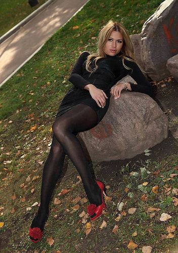744c2137436f2 Dark Pantyhose on Lovely Legs | Flickr - Photo Sharing! | body stock ...