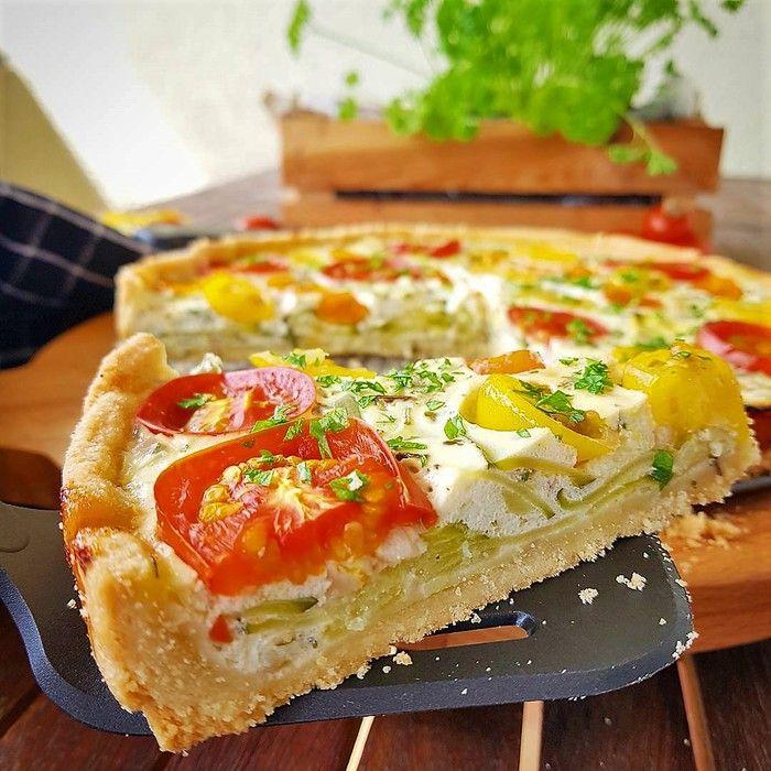 zucchini tomaten tarte bella cooks and travels