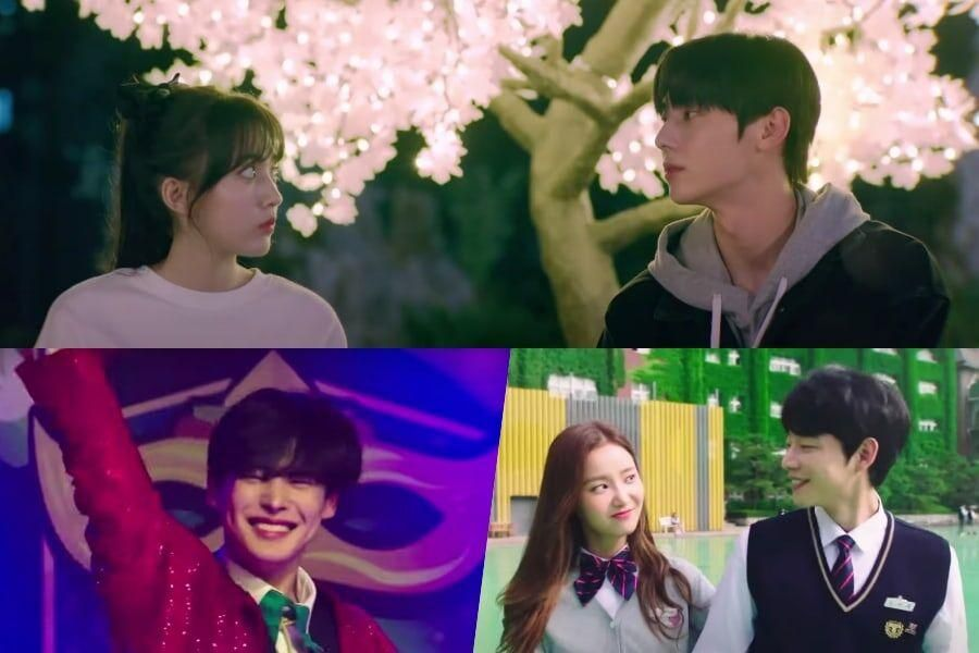 "Watch: NU'EST's Minhyun, Jung Da Bin, VICTON's Byungchan, And More Take On School Life In New ""Live On"" Teaser"