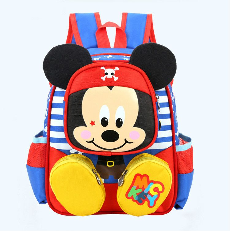 2017 Hot Fashion Children School Bags Minnie Mickey Backpack Baby Toddler Kids Book Bag Kindergarten Boy Backng B156 Affiliate