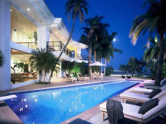 "Huge Houses With Pools 7) fancy - house with big pool .. ""just love the palm trees"