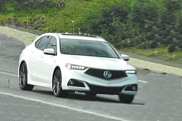 2018 Acura TLX Spied