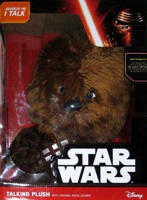 Peluche Chewbacca, gruñón y parlanchín. Star Wars - portal #Ñoño .-.  ___ ... ___ .. __ . _   Peluche Chewbacca de lujo. Habla y gruñe como Chewie. Empaque: 40 x 30 x 21 cms.
