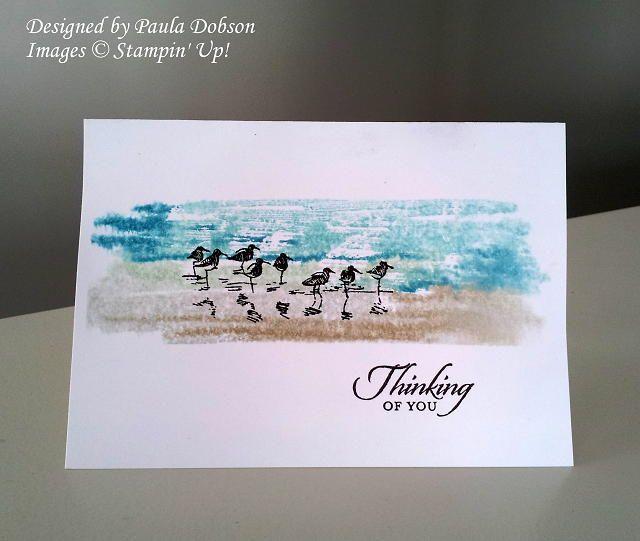 wetlands card by Paula Dobson