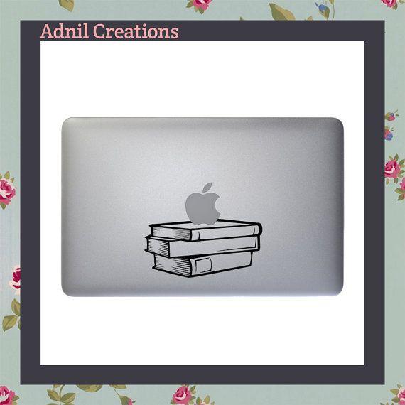 Teacher Apple Notebook Decal