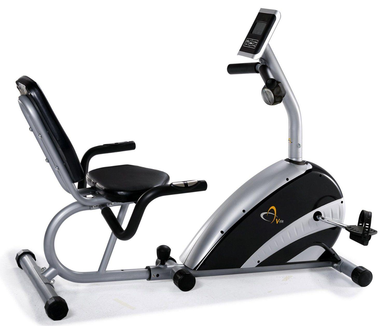 V Fit Bst Rc Recumbent Magnetic Exercise Bike Blood Pressure