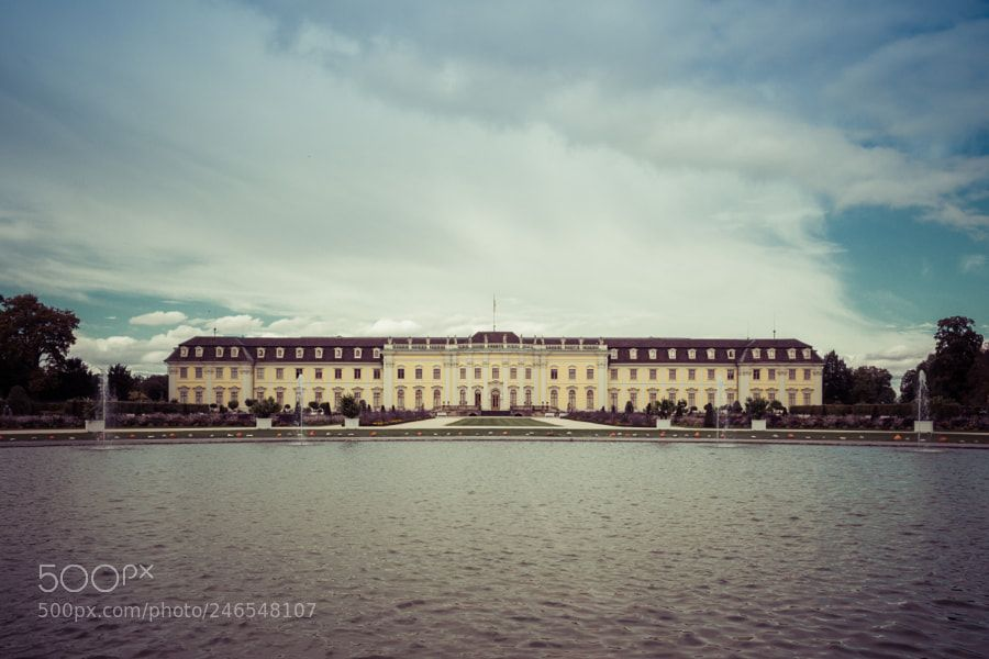 Ludwigsburg Residential Palace By Tungstenlight