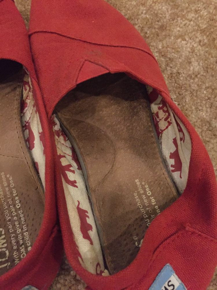 Womens toms shoes flats size 7 girls