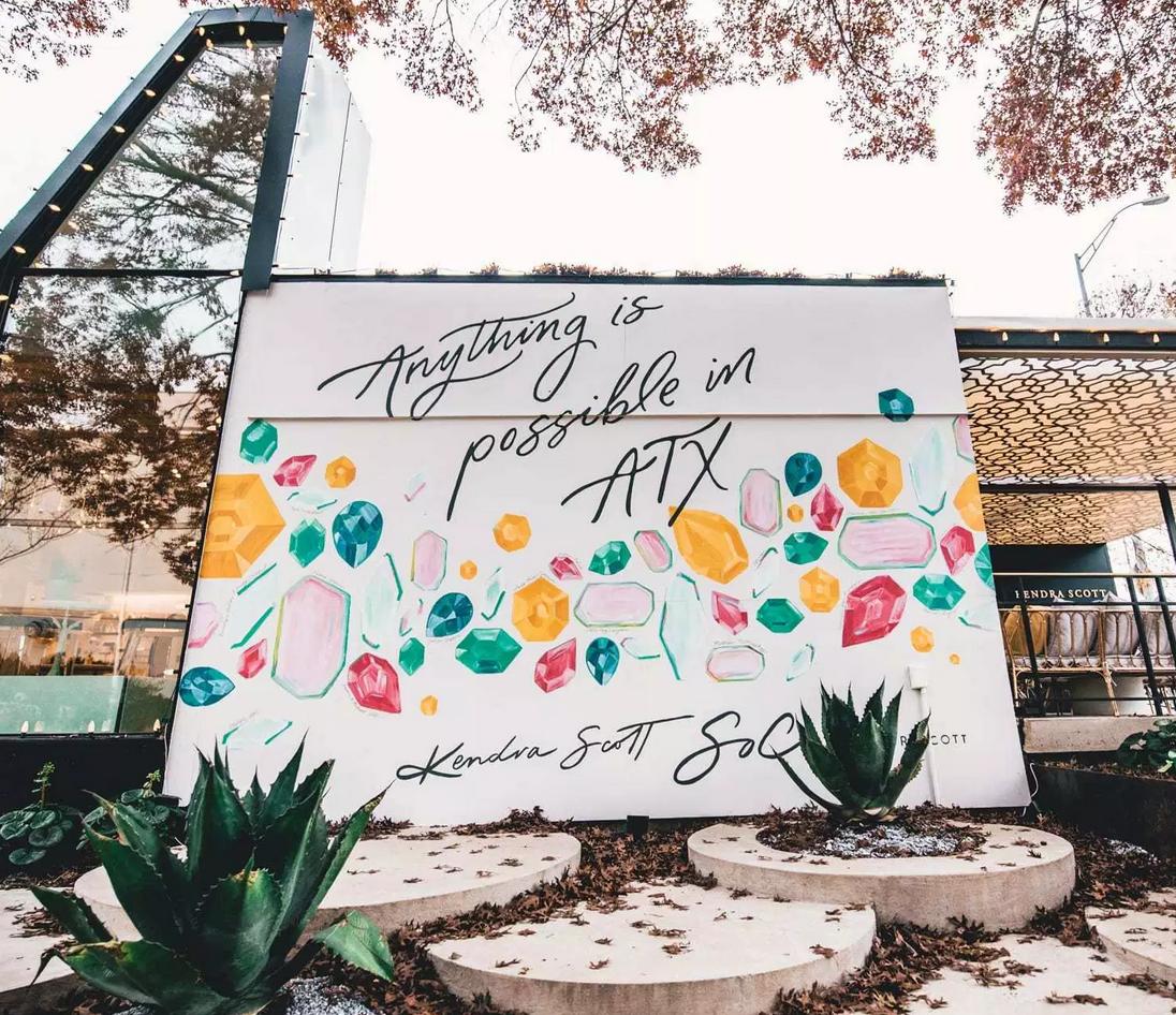 Austin Tx Wall Murals Galore Best Instagram Spots Austin Murals Wall Murals Mural