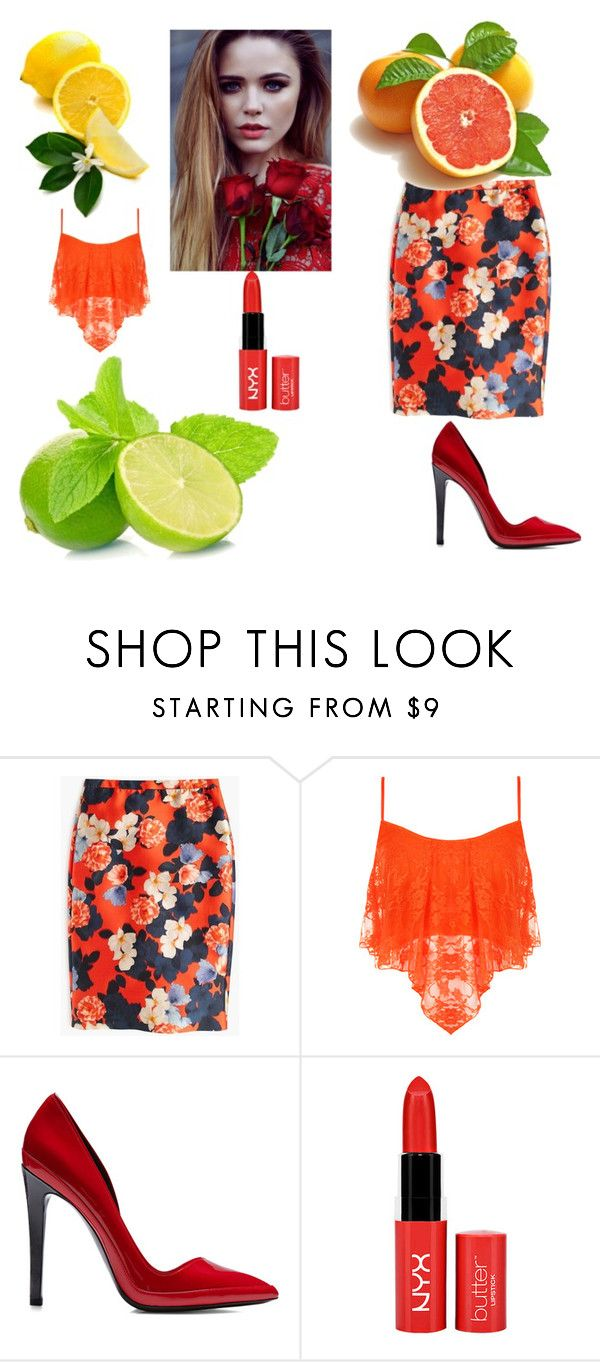 """""""Bez naslova #36"""" by suadasuada ❤ liked on Polyvore featuring J.Crew, WearAll and Anthony Vaccarello"""