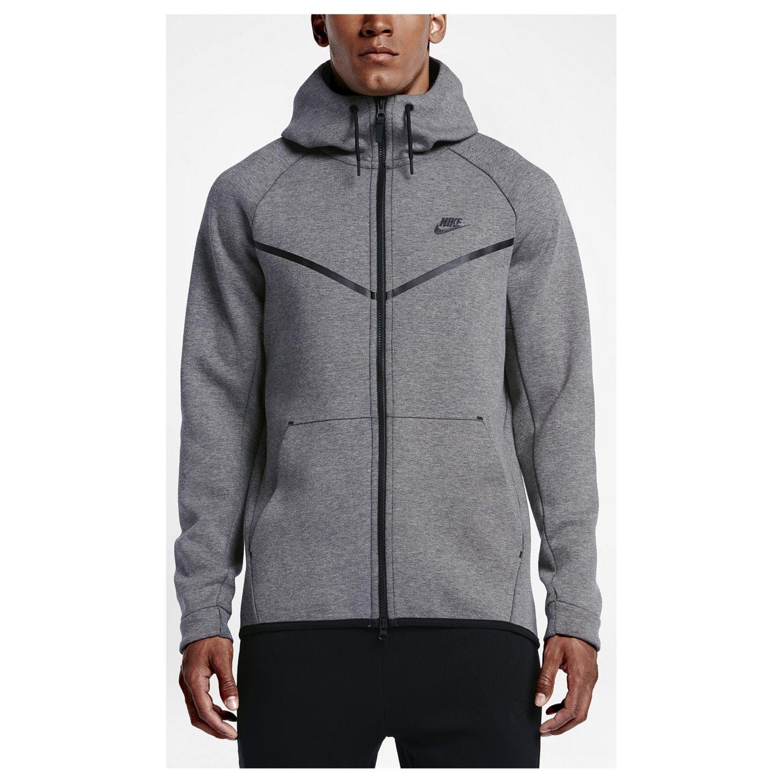 Nike Sportswear TECH FULLZIP HOODIE Sweatjacke dark grey