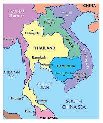 Camboya Mapa Asia Buscar Con Google Camboya Mapa Camboya Laos