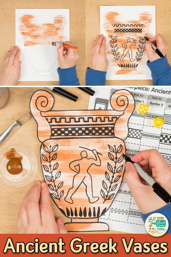 Photo of Ancient Greece Art Game | Art Lessons byGlitter Meets Glue