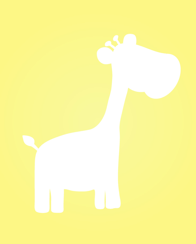 Freebie Printable Giraffe Nursery Art Wall Print Digi