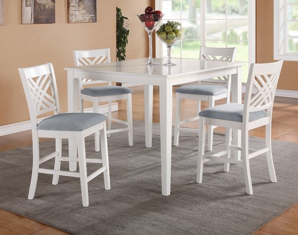 White Counter Height Dining Set White Counter Height Table