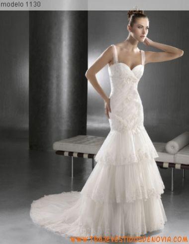1130 tul vestido de novia lugo novias | vestidos de novia canarias
