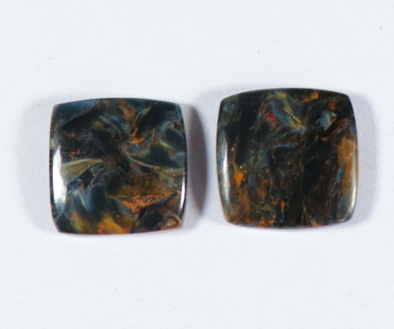 30x15x4 Natural Pietersite Gemstone AAA qulity Pietersite Beautiful Cushion Shape Pietersite Loose Gemstone For Jewellery Making MM Ct22.55