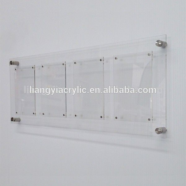 High-end Clear Acrylic Wall Mount Picture Frames - Buy Acrylic Wall ...