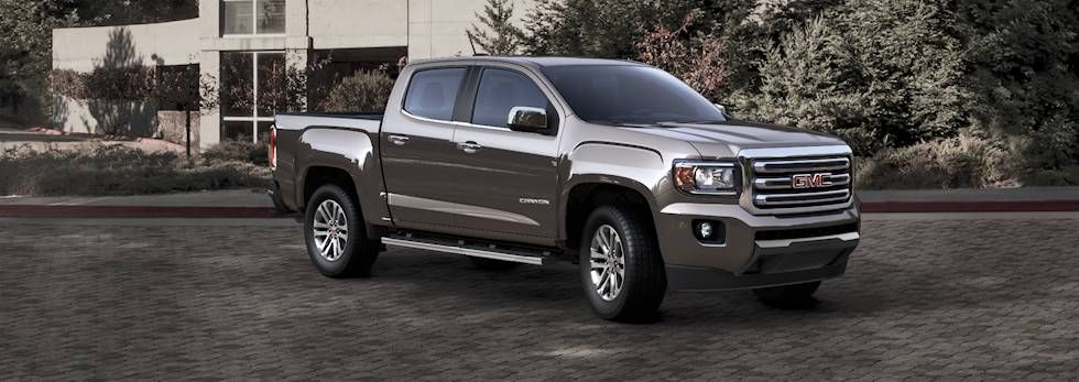 Bronze Alloy Metallic Small Pickup Trucks Small Trucks Gmc Canyon
