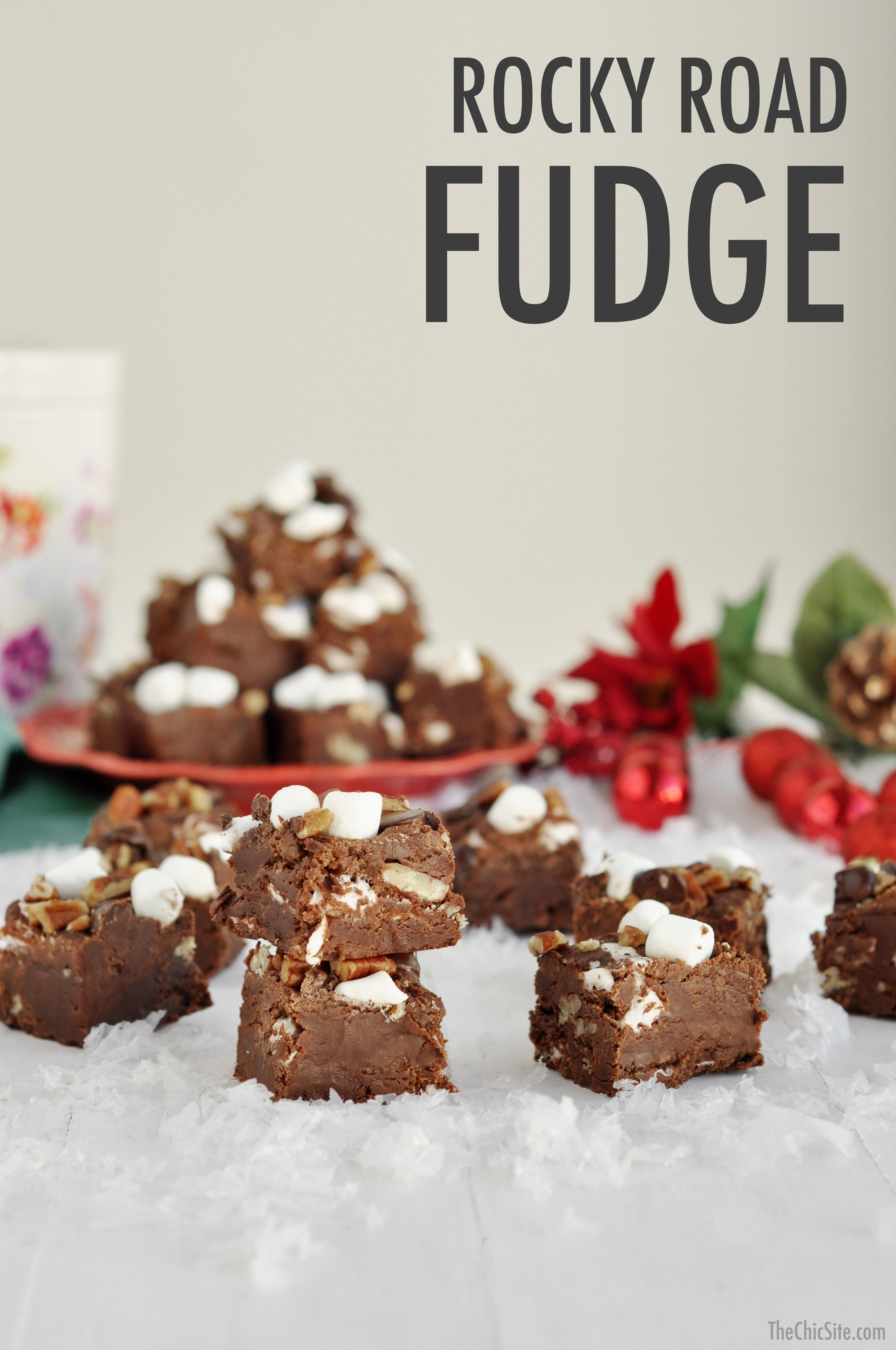 christmas desserts easy holiday fudge