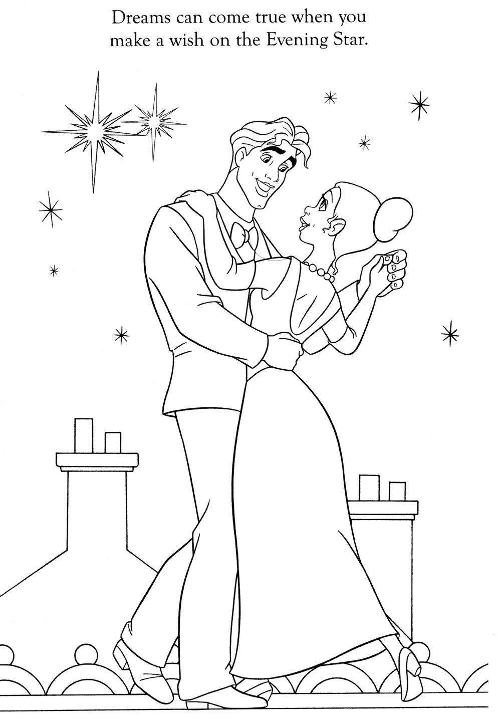Tiana and Naveen Coloring Pages | Coloring Book Pages | (((( Tiana ...