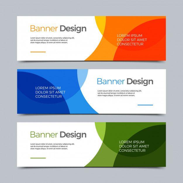 Vector Abstract Banner Modern Web Template Banner Shablon Bannera Dizajn Bannera