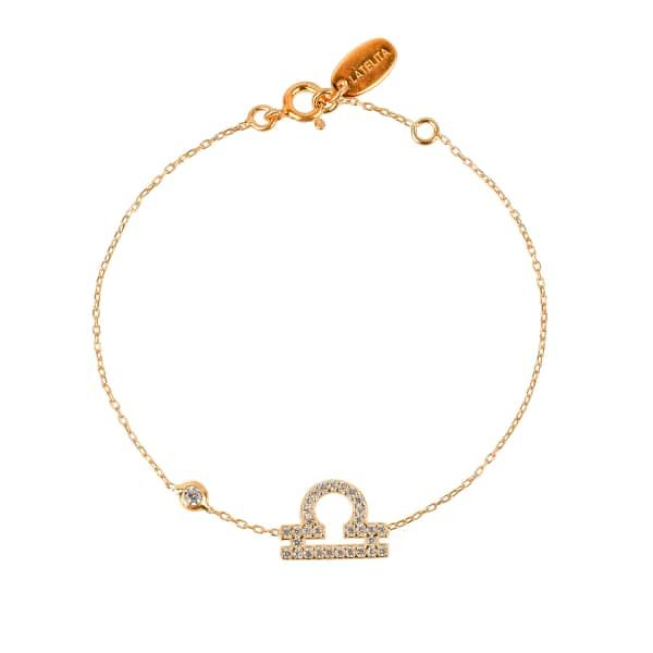 Latelita London Virgo Zodiac Bracelet Rose Gold h0pDSqrs