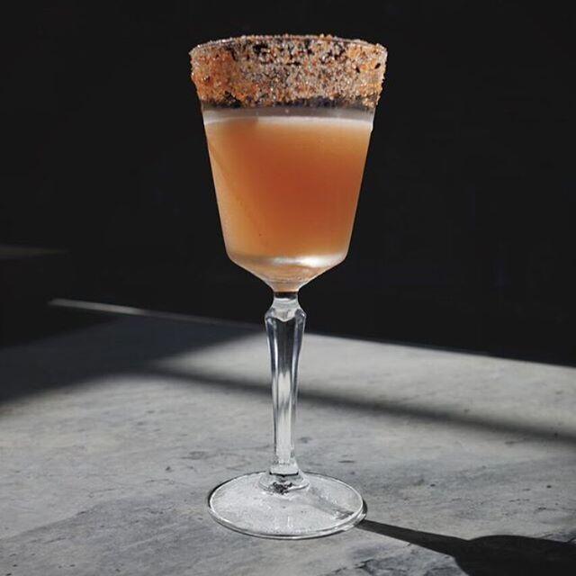 BLAZING SADDLES TEQUILA, LIME, TOGARASHI SYRUP, AMARO DI ANGOSTURA.  recipe: @bartendersquad @altostequila #amarodeangostura #Togarashi