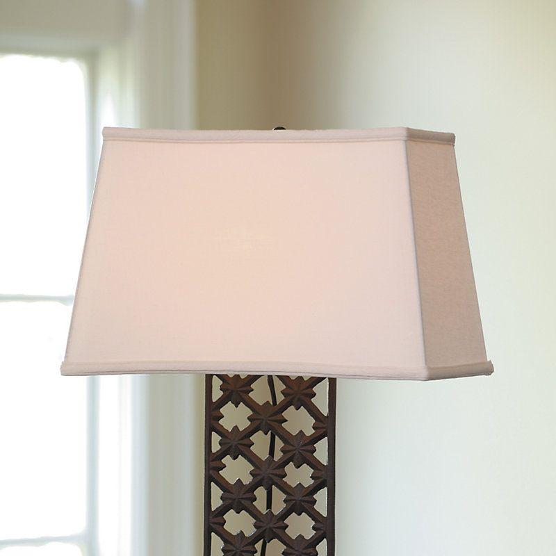 Rectangular Lamp Shade Lighting Ballard Designs In 2021 Rectangular Lamp Shades Lamp Shade Diy Lamp Shade