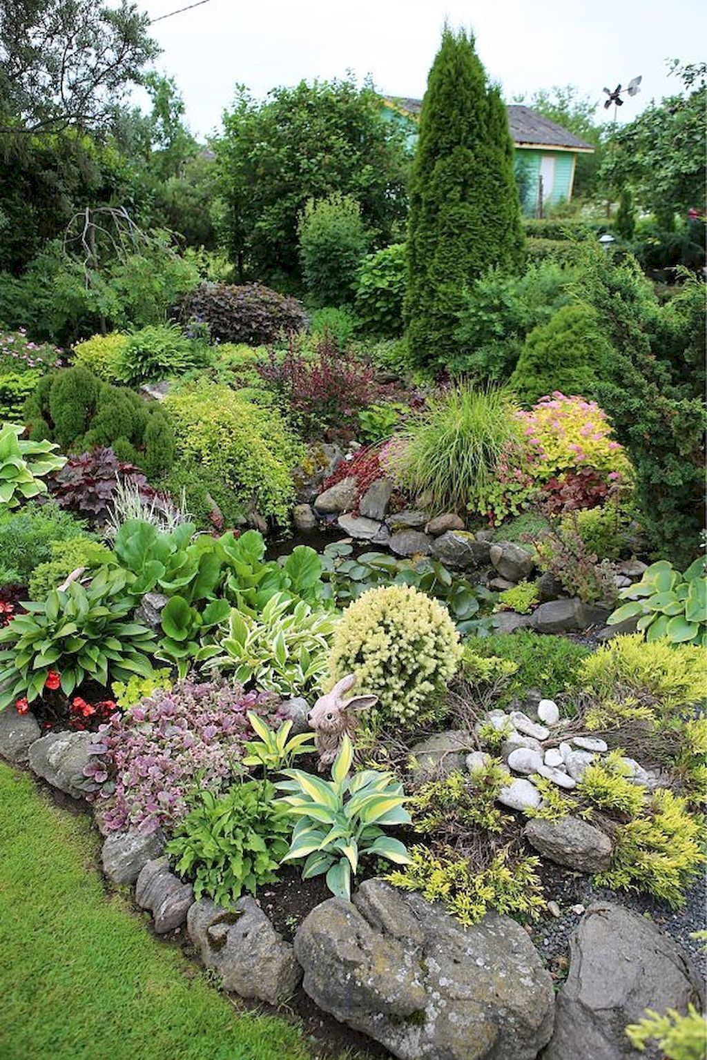 Cool 75 Awesome Front Yard Rock Garden Landscaping Ideas  https://homespecially.com/75-awesome… | Front garden landscape, Garden  landscape design, Rock garden design