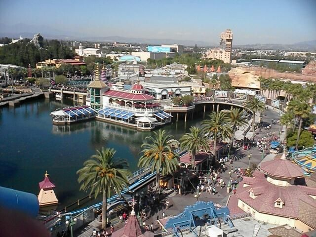 Live from the top of California Screamin', disneyland